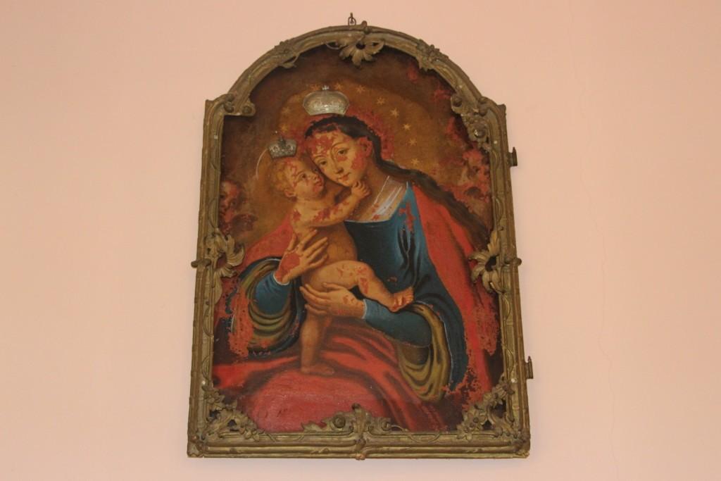 Bogorodica sa detetom Isusom, kraj XIX veka