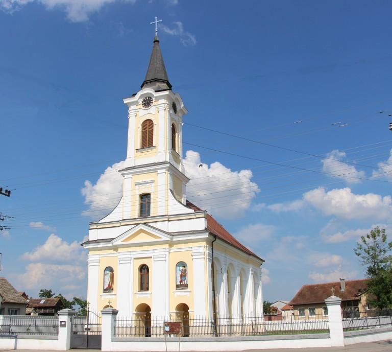 Kirche der Heiligen Mutter Gottes (Hram Blagovestenja Presvete Bogorodice) – Krnješevci