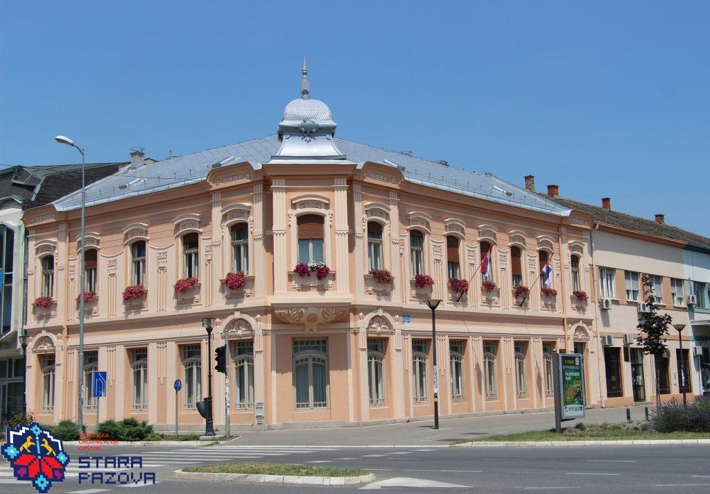 Zgrada nekadašnje štedionice (1905), Stara Pazova