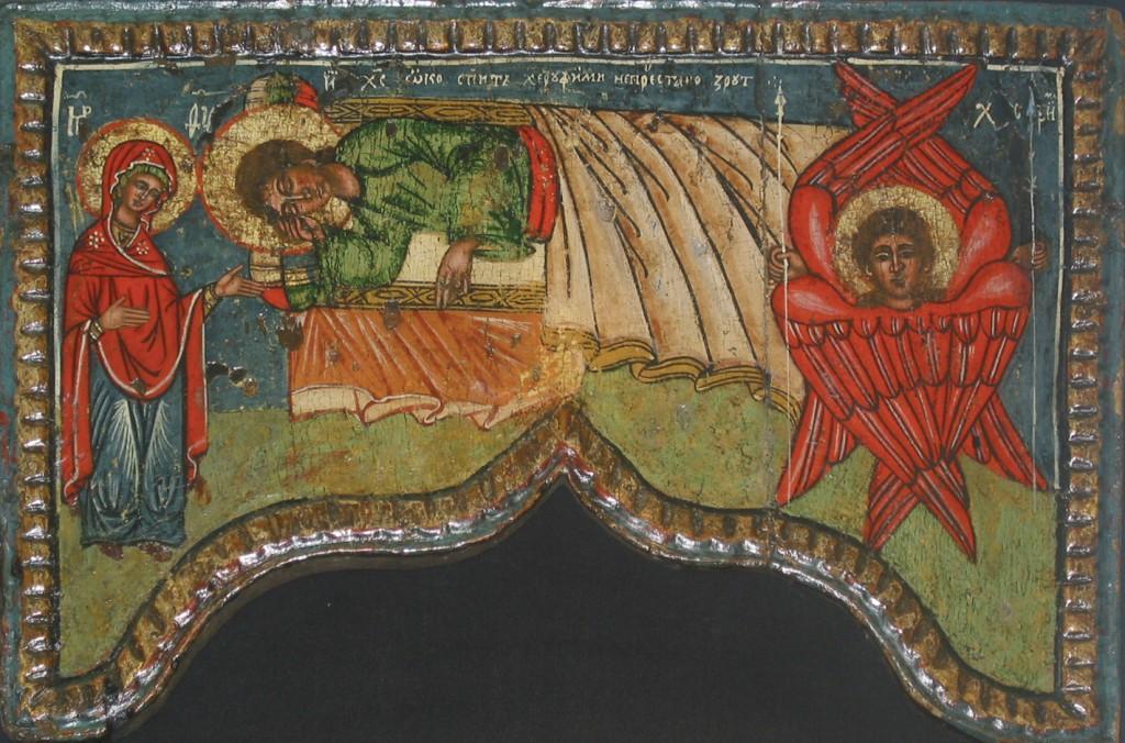 Ikona Nedremano oko, Krnješevci, oko 1730.god., nepoznati ikonopisac, GMS/U 4009
