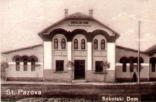Sokolski dom (1931.god.) u Staroj Pazovi