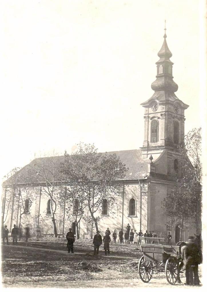 Slovačka evangelička crkva a.v. u Staroj Pazovi,1938.god.