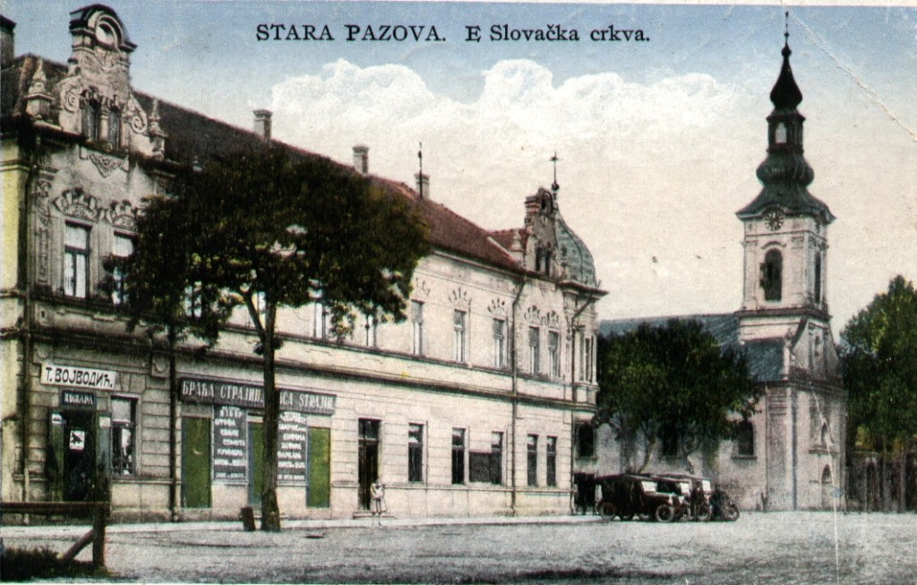 Radnja Trifuna Vojvodića. u Hotelu Petrović u Staroj Pazovi, prva poloviina XX veka