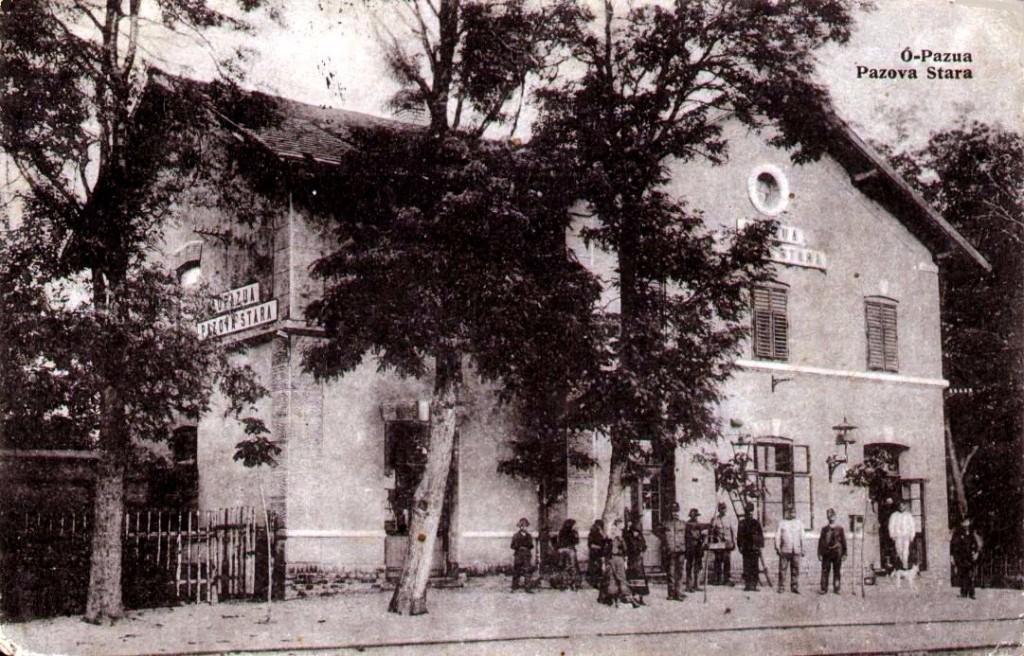 Zgrada stare železničke stanice, Stara Pazova, prva polovina 20. veka