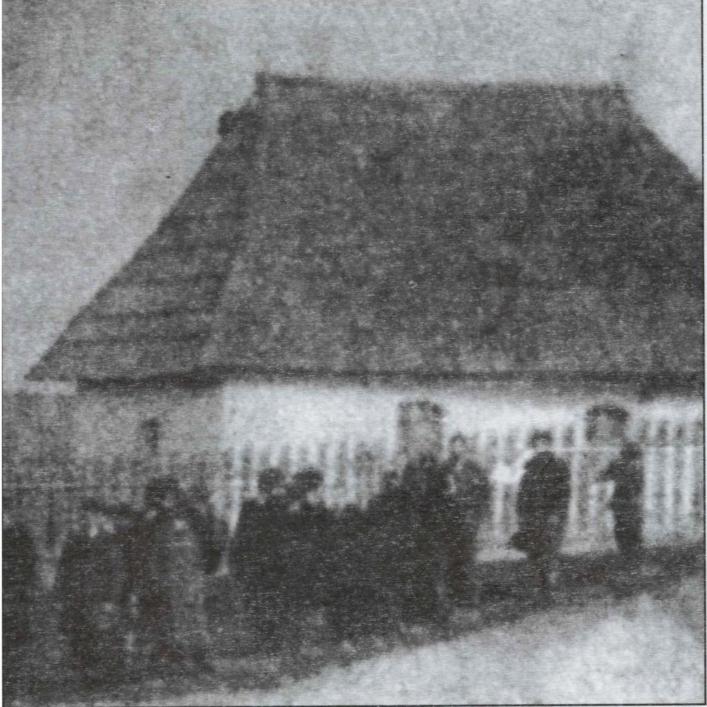 Stara crkva snimljeno oko 1895.god.