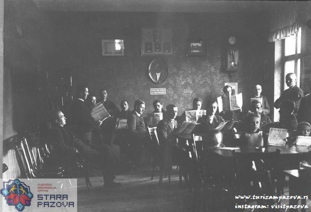 Slovačka čitaonica, prva polovina 20.veka