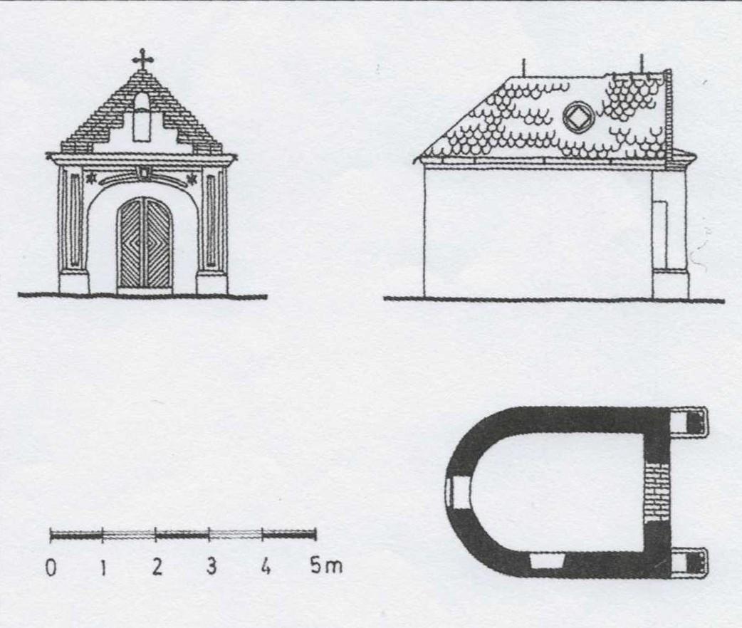 Kapela Svetog Ilije u Staroj Pazovi (osnova i izgled)
