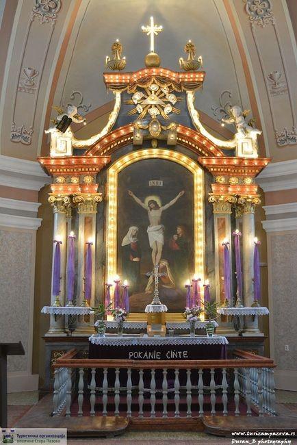Oltar- Raspeće, XIX vek