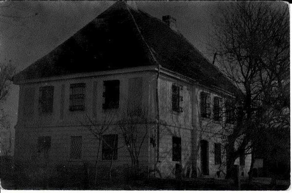 Dvorac Šlos (razglednica) prva polovina XX veka