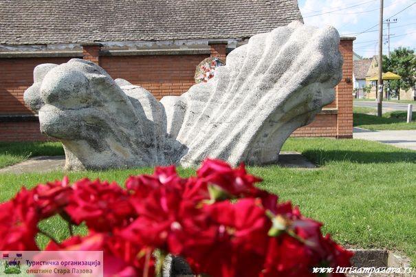 Spomenik poginulim borcima iz Krnješevaca za vreme Drugog svetskog rata, Krnješevci