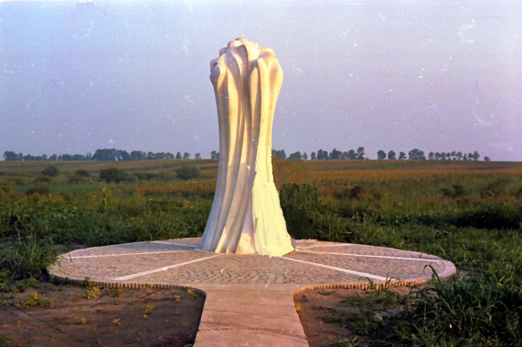 Spomenik na Marinkovićevom salašu