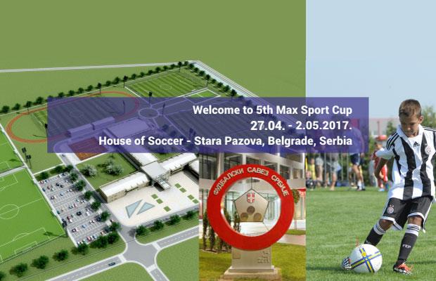 "Međunarodni turnir u fudbalu ""Max Sport Cup 2017.""-Stara Pazova"