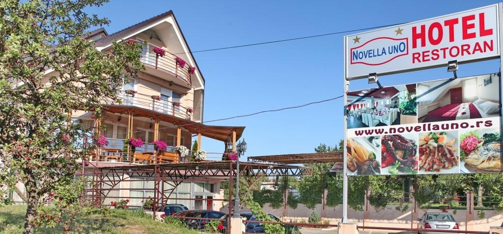 Hotel Novella Uno ***- Novi Banovci
