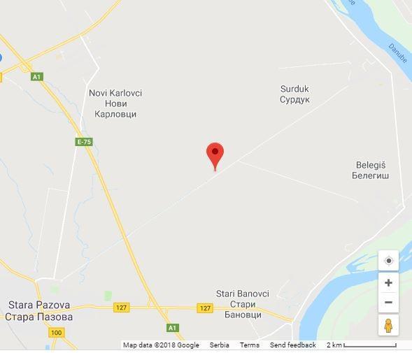 Map -Petrović-salaš
