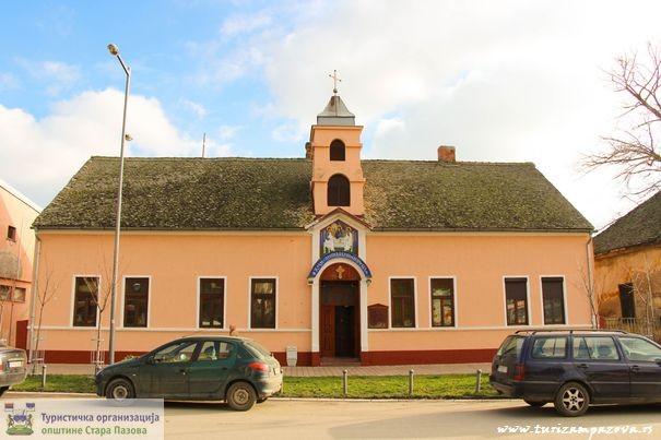 The templeof the Great Venerable Sisoje-Nova Pazova