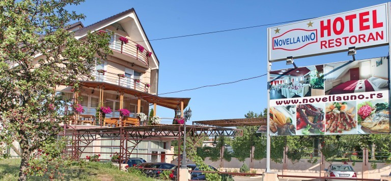 Hotel Novella Uno *** - Novi Banovci