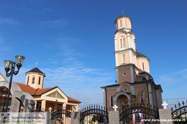Kirche der Heiligen Jungfrau Paraskeva (Hram Prepodobne mati Paraskeve) – Nova Pazova