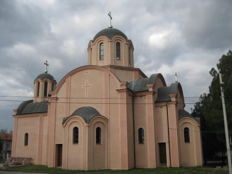 Die Kirche des Heiligen Vasilije (Hram Sv.Vasilija Ostroskog Cudotvorca) – Novi Banovci