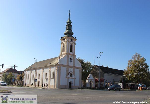 Slowakische evangelische Kirche – Stara Pazova