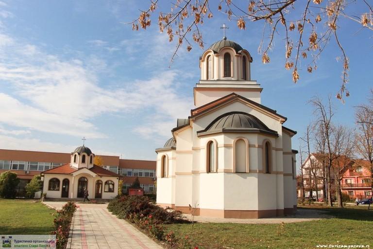 Kirche der Heiligen Jungfrau (Hram Pokrova Presvete Bogorodice) – Stara Pazova