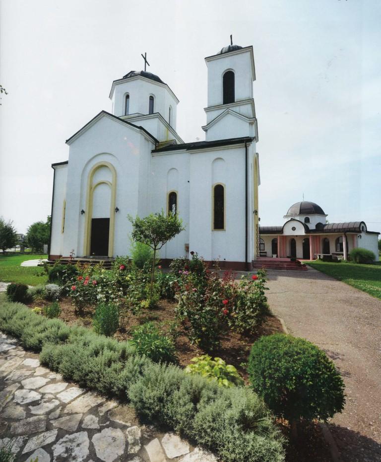 Kirche der Heiligen Trojka (Hram Svete Trojice) – Nova Pazova